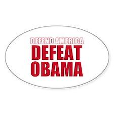 Anti Obama 2012 Decal