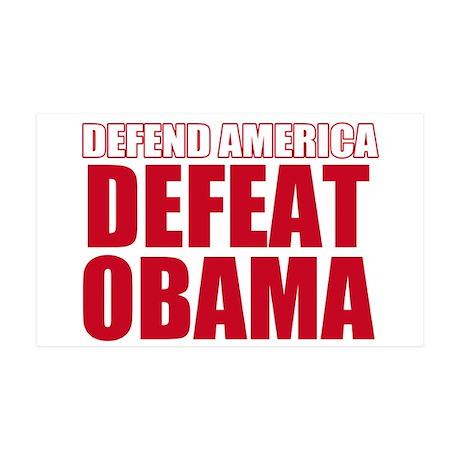 Anti Obama 2012 35x21 Wall Decal