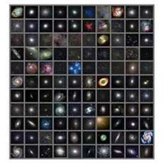 Messier objects, full set Framed Print
