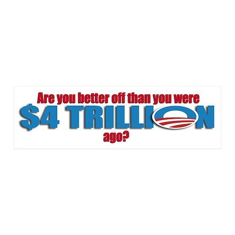 Anti Obama 2012 20x6 Wall Decal