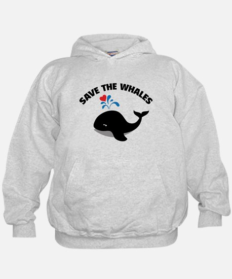 Save the whales Hoody