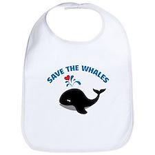 Save the whales Bib