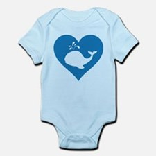 Love whale Infant Bodysuit