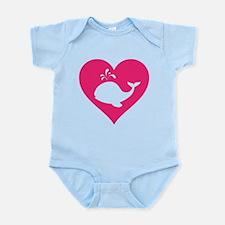 Love whale Infant Bodysuit