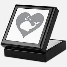 Love whale Keepsake Box