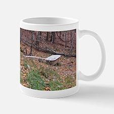 Bathtub in the forest Mug