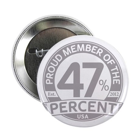 "Member 47 Percent 2.25"" Button"