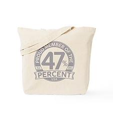 Member 47 Percent Tote Bag