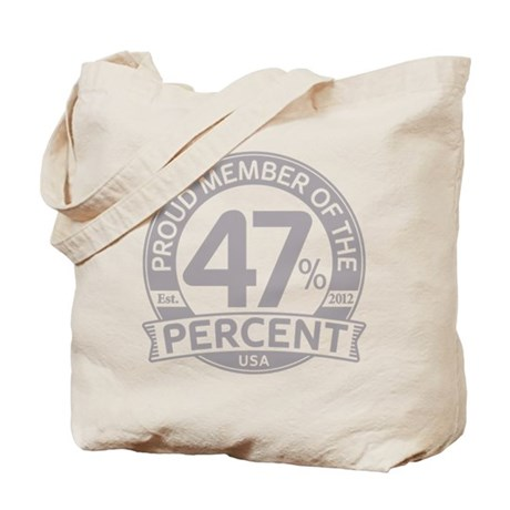 Member 47 Percent Tote Bag