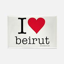iluvbeirut/lebanon Rectangle Magnet