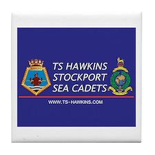 TS Hawkins Tile Coaster