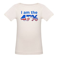 I am the 47% with Obama Logo Tee
