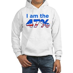 I am the 47% with Obama Logo Hoodie
