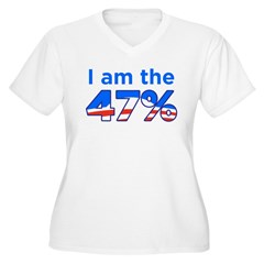 I am the 47% with Obama Logo T-Shirt