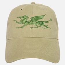Green Dragon Baseball Baseball Cap