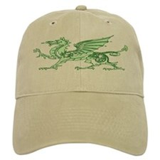 Green Dragon Baseball Cap