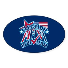 ELECTION MMVI Oval Decal