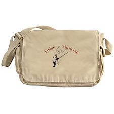 Fishin Musician Messenger Bag