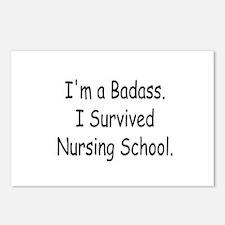 Badass Nursing Students Postcards (Package of 8)