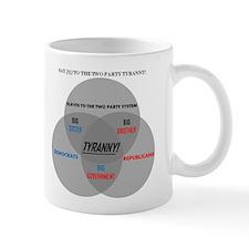 SAY NO TO THE TWO PARTY TYRANNY Mug