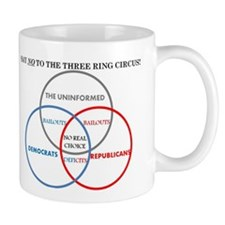 SAY NO TO THE THREE RING CIRCUS! Mug
