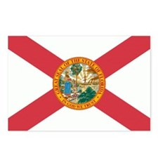 state-flag-of-florida Postcards (Package of 8)