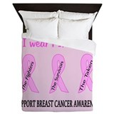 Breast cancer Duvet Covers