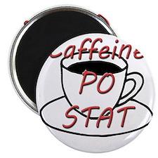 Caffeine PO stat Magnet