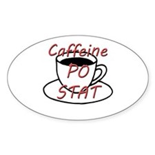 Caffeine PO stat Decal