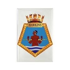 TS Hawkins Rectangle Magnet