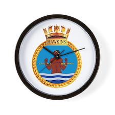 HMS Hawkins Wall Clock