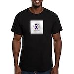 Pancreatic Battle Men's Fitted T-Shirt (dark)