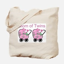 Mom of Twins (Girls) Tote Bag