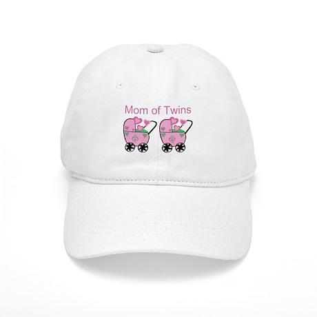Mom of Twins (Girls) Cap