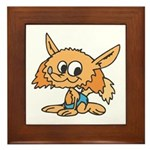 Baby Fox Framed Tile