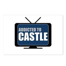 Addicted to Castle Postcards (Package of 8)