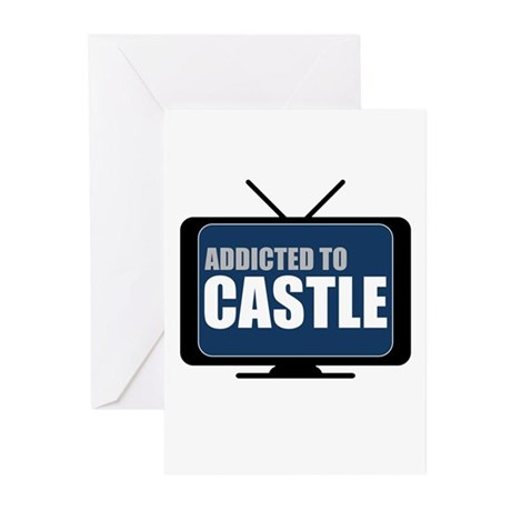 Addicted to Castle Greeting Cards (20 pack)