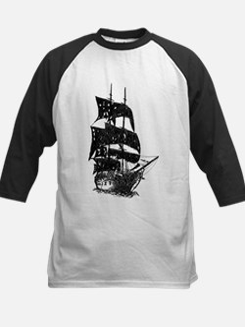 ghost pirate ship Tee