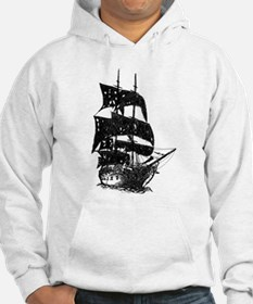 ghost pirate ship Hoodie