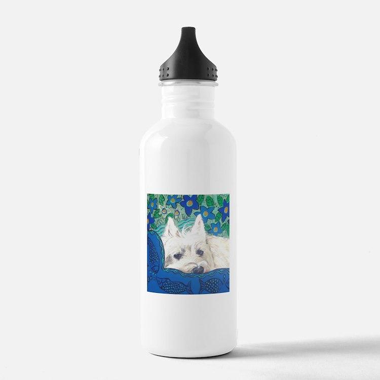"""""""Westie"""" Water Bottle"""