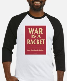 War Is A Racket Baseball Jersey
