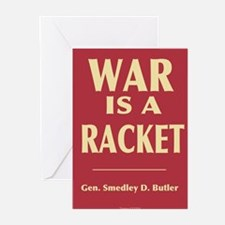 War Is A Racket Greeting Cards (Pk of 10)