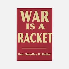 War Is A Racket Rectangle Magnet