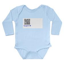 QuickDraw WP QR Logo Long Sleeve Infant Bodysuit