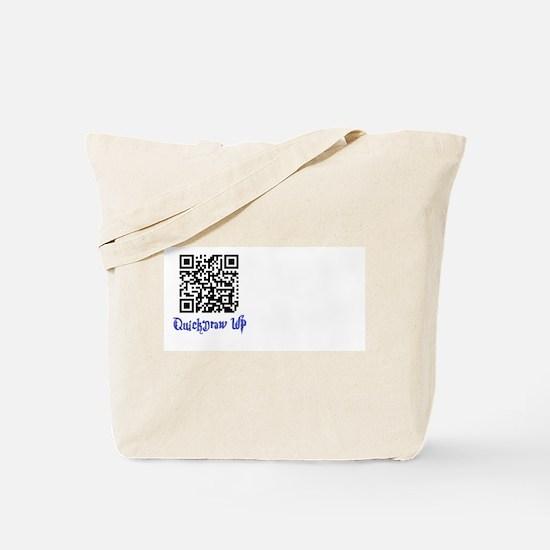 QuickDraw WP QR Logo Tote Bag