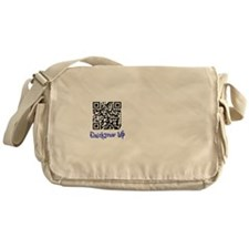QuickDraw WP QR Logo Messenger Bag