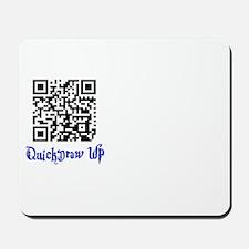 QuickDraw WP QR Logo Mousepad