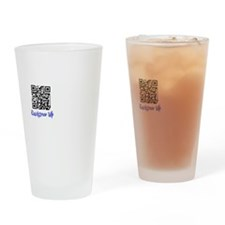 QuickDraw WP QR Logo Drinking Glass