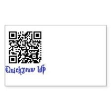 QuickDraw WP QR Logo Decal