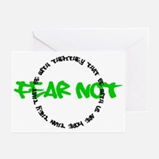 Fear Not Circle Greeting Cards (Pk of 10)